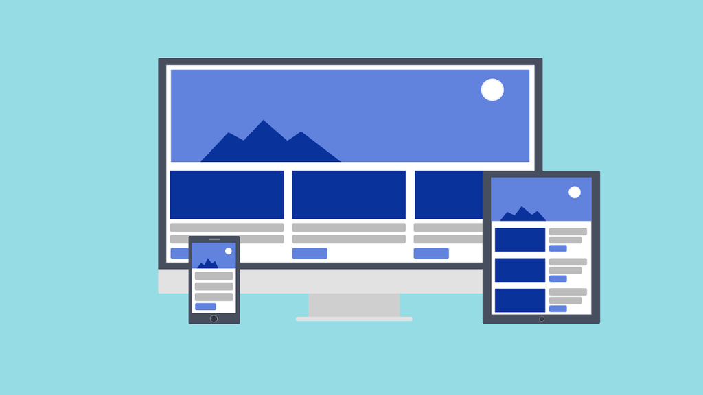 repsonsive websites and landing pages
